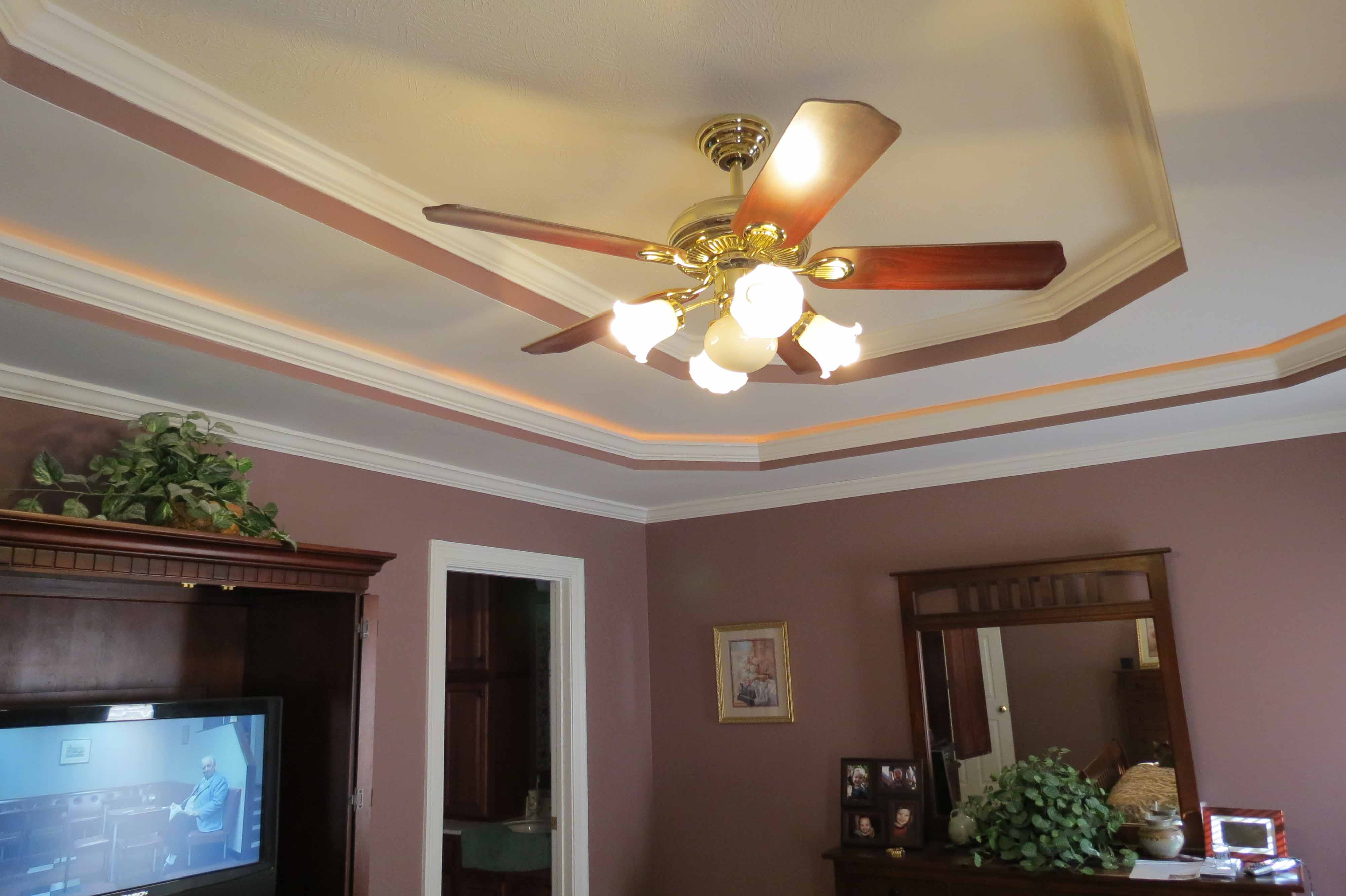 Our portfolio past electrical work louisville ky durbin electric you cant have too many ceiling fans mozeypictures Images